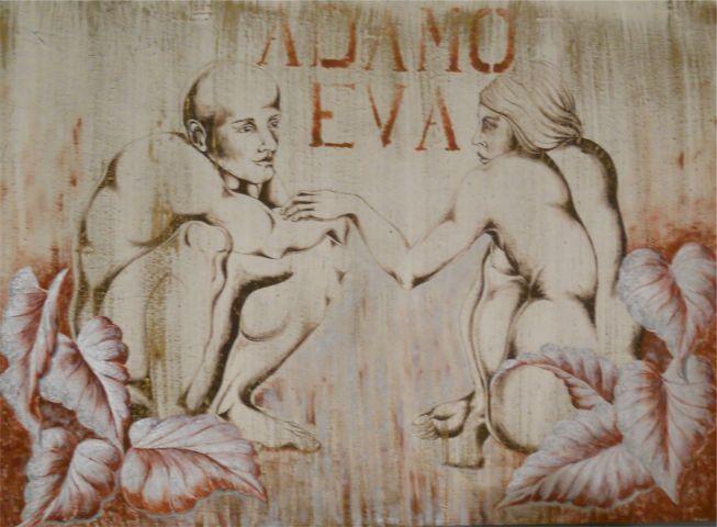 Adamo ed eva_disegnibyguttuso